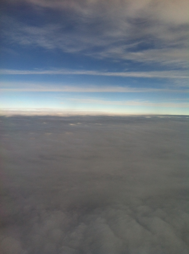 The Flight Back To Atlanta - Beautiful View! How Can You NOT See God In This?!?!