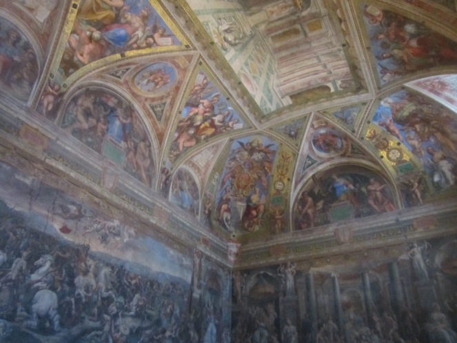 I mean...That's a CEILING - and not even the ceiling in the Sistine Chapel!