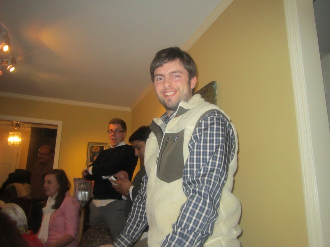 My Awesome Husband In The Vest I Bought Him For Valentine's
