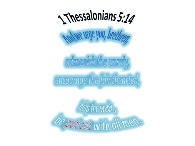 1Thessalonians514